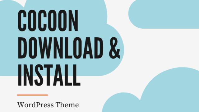 cocoon download & install